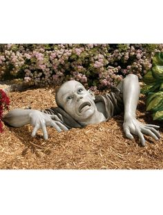 Zombie Garden Statue   Gardeners.com