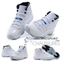 Nike Air Jordan 11 | Classique Chaussure De Basket Homme Cuir Blanche