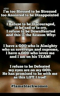 I refuse to be discouraged...