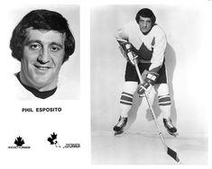 Phil Esposito, Canada Cup, Hockey Hall Of Fame, Black Hawk, Sports Figures, National Hockey League, New York Rangers, Boston Bruins, Ice Hockey