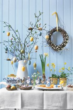 Traditional Easter Egg Tree