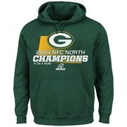 Men s Green Bay Packers Majestic Green 2014 NFC North Division Champions  Hoodie Jet Fan a075d0d53