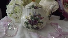 James Sadler Teapot Vintage Multi Flowers