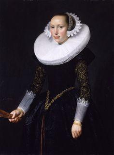 Nicolaes Eliasz. Pickenoy (1588 - 1653/1656), Portrait of a Woman, c. 1630. Oil on canvas, 103.7 x 76.7 cm.