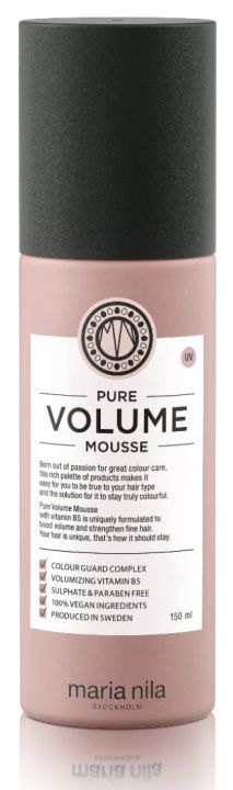Pure Volume Mousse är en vårdande volymmousse. Håret blir starkt, fylligt och na...