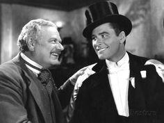 Errol Flynn & Alan Hale. (Great pals)