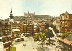 Starý pohľad na Hurbanovo námestie
