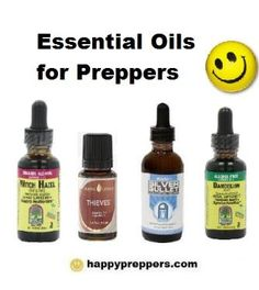 "ESSENTIAL OILS FOR PREPPERS: Essential oils for preparedness is a topic not often discussed in prepper forums, and yet preppers partake in using essential oils for their health and survival. Essential Oils could very well be ""essential"" for preppers!"