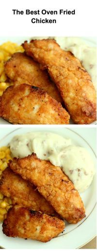 Best oven fried chicken #chickenrecipes There is just something about that Kernals KFC recipe that makes my mouth water and senses go haywire as i crave that crispy crunch of those aromatic herb chicken pieces. Then I pull myself out of that dream and decide to try and cook some for myself. So below guys is what i think is the best finger-licken KFC style recipe out there that is pretty darn hard to beat.