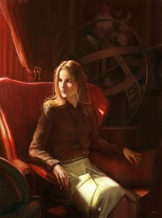 Voyager арт, Robert Rejmak, девушки, путешественник