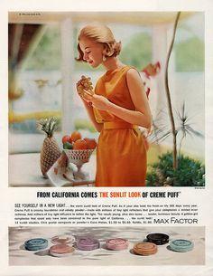 Max Factor Make-up Ad