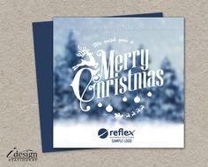 64 best business and corporate christmas cards images on pinterest winter scene business christmas cards with logo printable corporate holiday cards personalized winter scenery colourmoves