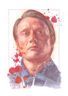 Mads Mikkelsen as Dr. Hannibal Lecter by Mark Raats