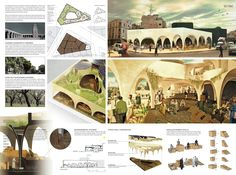 [AC-CA] International Architectural Competition - Concours dArchitecture | [CASABLANCA] Sustainable Market Square