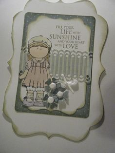 Tilda All Occassion Cards 4 pack by Blandsgill on Etsy, £2.00