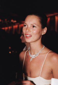 Kate Moss at Cannes 1998.