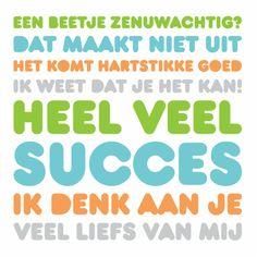 Succes je kan meer dan je denkt!