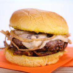 Michael Symon's French Onion Burger! #TheChew #Burger #4thofJuly