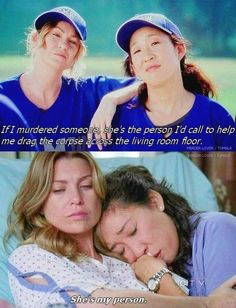 Best Quotes Greys Anatomy Christina My Person Ideas Meredith E Cristina, Cristina Yang Quotes, Meredith And Christina, Meredith And Derek, Greys Anatomy Frases, Greys Anatomy Funny, Grey Anatomy Quotes, Anatomy Humor, Greys Anatomy Cast