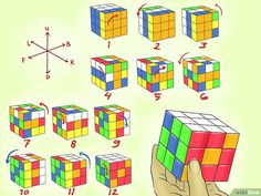 8 Cara untuk Membuat Pola Kubus Rubik yang Keren - wikiHow