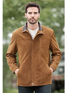 Hudson Lambskin Leather Jacket