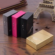 1Pc Protable Lady Women Slim Aluminum 20 Pieces Cigar Cigarette Tobacco Holder Storage Case Pocket Box Drop Shipping #clothing,#shoes,#jewelry,#women,#men,#hats,#watches,#belts,#fashion,#style
