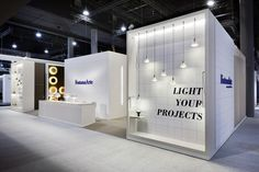 FontanaArte Stand at Light+Building Fair 2014 in Frankfurt.