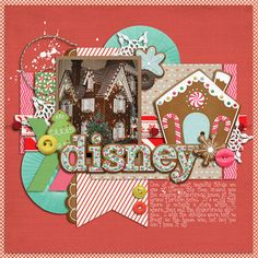 Disney Gingerbread