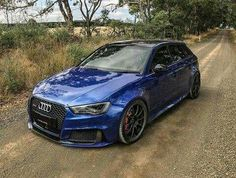 Audi. Not normally a fan of stance, but man this looks beautiful.
