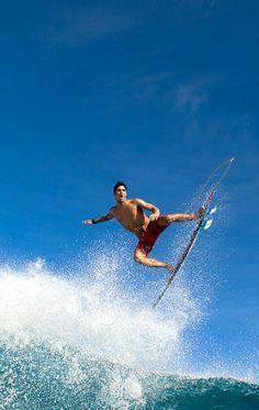 """surf-fear: """" photo by Corey Wilson Gabriel Medina, French Polynesia """""""