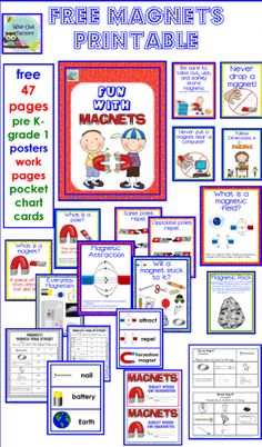Free Magnets Printable, 47 pages