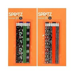 Spri Spritz Halloween Pencils - 8ct ($1) ❤ liked on Polyvore featuring home, home decor, halloween, halloween bowl, colorful home decor, halloween home decor, candy bowl and halloween candy bowl