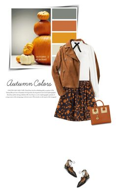 """""""Autumn colors"""" by sophiek82 ❤ liked on Polyvore featuring Exclusive for Intermix, Envi, Somerset by Alice Temperley, Tara Jarmon, Aquazzura and Sophie Hulme"""