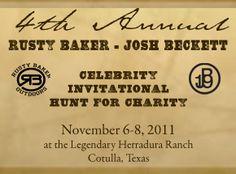 Rusty Baker - Josh Beckett Celebrity Invitational Hunt for Charity