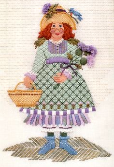 1019 Thistle Maiden by Just Libby (Sturdy) Designs