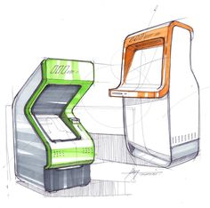 Sketches we like / ball Pen / marker / Arcade Device /