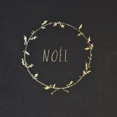 Une couronne de Noël qui change...à dessiner sur tableau noir où bon vous semble