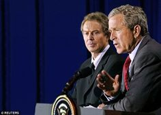 White House in Chilcot 'cover-up': America bans crucial files that could reveal secret of why Blair invaded Iraq. Cache of 80 files detailing discussions between Tony Blair and George W Bush in run up to the 2003 war have been found by the US Government. It has been classified on the grounds of 'national security' and suppressed. Move has infuriated relatives of British servicemen killed in the conflict. Chilcot Inquiry source refused to say if Sir John had studied documents.