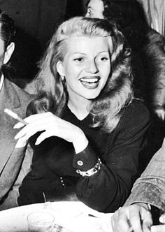 Rita Hayworth , 1947 Hair
