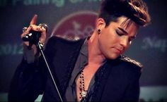 Beyond words!  Image by @lilybop2010 screencap ADAM LAMBERT Live In The Vineyard Concert Napa CA Uptown Theater 11-3-12