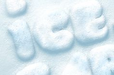 Our photoshop snow text effect is a great wintery holiday style for your designs. We created a realistic psd ice and...