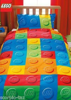 LEGO Bed Set, this would be awesome for Gavin!!!