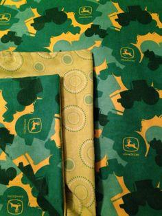 John Deere Tractor Baby Blanket, Large Receiving Blanket, Farmer Blanket, Swaddle Blanket, Baby Shower Gift on Etsy, $16.50
