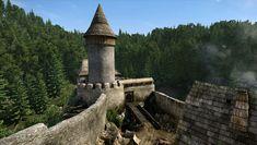 Kingdom Come: Deliverance Kingdom Come Deliverance, Medieval, Building, Travel, Castles, Design, Rpg, Europe, Middle Ages