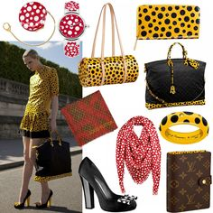 lv...i am obsessed with getting a piece from this collaboration with kusama
