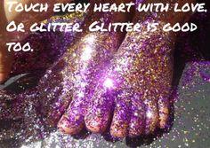 Glitterbomb it!  www.glitterbombart.com  via Tumblr
