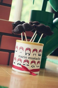 mustaches! maybe i can make these for your birthday to be silly with