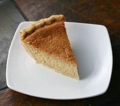 Eggnog Pie - FoodBabbles.com