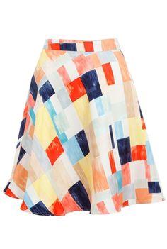 alice + olivia Romie flare skirt [Oxygen]