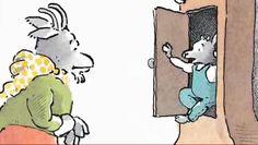 Digitaal prentenboek 'De wolf en het slimme geitje'. Link: http://johncroezen.nl/wolf/